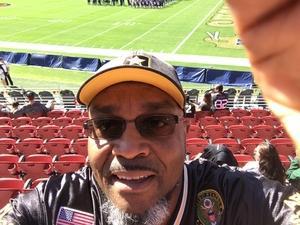 Thomas attended San Jose State vs. Army - NCAA Football on Oct 13th 2018 via VetTix