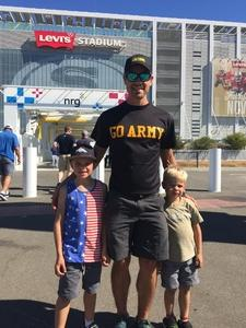 Nolan attended San Jose State vs. Army - NCAA Football on Oct 13th 2018 via VetTix