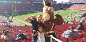 Gustavo attended San Jose State vs. Army - NCAA Football on Oct 13th 2018 via VetTix