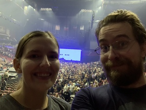 Ben attended Fall Out Boy -the M a N I a Tour With Machine Gun Kelly on Oct 6th 2018 via VetTix