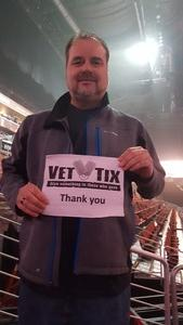 Dennis attended Fall Out Boy -the M a N I a Tour With Machine Gun Kelly on Oct 6th 2018 via VetTix