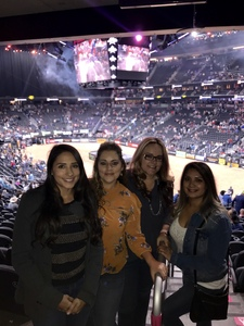 Yazmin attended 2018 Professional Bull Riders World Finals 25th PBR Unleash the Beast - Day Two on Nov 8th 2018 via VetTix