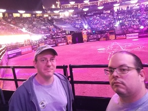Dustan attended 2018 Professional Bull Riders World Finals 25th PBR Unleash the Beast - Day Two on Nov 8th 2018 via VetTix