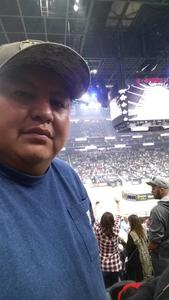 Lewis attended 2018 Professional Bull Riders World Finals 25th PBR Unleash the Beast - Day Two on Nov 8th 2018 via VetTix