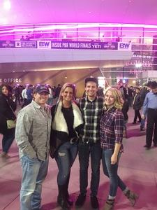 Jeff attended 2018 Professional Bull Riders World Finals 25th PBR Unleash the Beast - Day Two on Nov 8th 2018 via VetTix