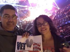 LEONARDO attended Bellator 208 - Fedor vs. Sonnen - Live Mixed Martial Arts on Oct 13th 2018 via VetTix