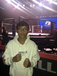 Adrian attended Bellator 208 - Fedor vs. Sonnen - Live Mixed Martial Arts on Oct 13th 2018 via VetTix