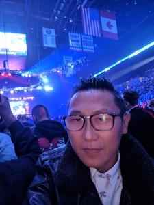 David attended Bellator 208 - Fedor vs. Sonnen - Live Mixed Martial Arts on Oct 13th 2018 via VetTix