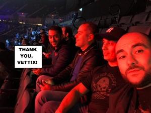 Rahim attended Bellator 208 - Fedor vs. Sonnen - Live Mixed Martial Arts on Oct 13th 2018 via VetTix