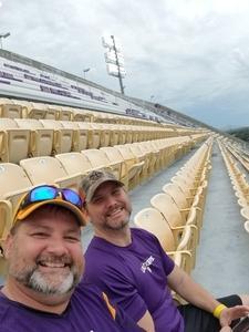 Kenneth attended LSU Tigers vs. Louisiana Tech - NCAA Football on Sep 22nd 2018 via VetTix