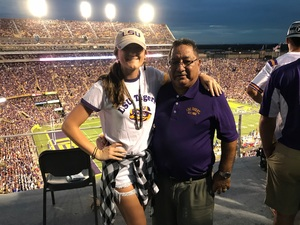 donna attended LSU Tigers vs. Louisiana Tech - NCAA Football on Sep 22nd 2018 via VetTix