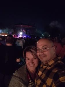 Agapito & Ashley attended Billy Idol on Sep 28th 2018 via VetTix