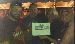Ronda attended Cole Swindell and Dustin Lynch: Reason to Drink Another Tour on Oct 5th 2018 via VetTix