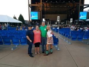 Randall attended Cole Swindell and Dustin Lynch: Reason to Drink Another Tour on Oct 5th 2018 via VetTix