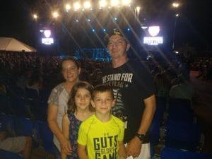 Dustin attended Cole Swindell and Dustin Lynch: Reason to Drink Another Tour on Oct 5th 2018 via VetTix