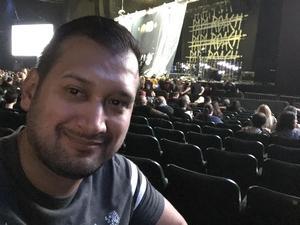 Pablo attended Rock Allegiance - Alternative Rock on Oct 6th 2018 via VetTix