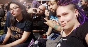 Giovanni attended Rock Allegiance - Alternative Rock on Oct 6th 2018 via VetTix