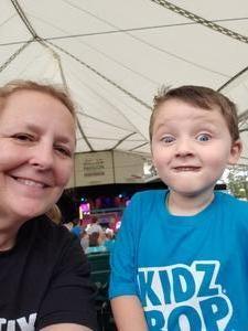 Alicia attended Kidz Bop 9. 23. 18 @ Cwmp - Houston, Tx on Sep 23rd 2018 via VetTix