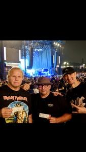 Sammie Black attended Klos Presents: Deep Purple and Judas Priest on Sep 27th 2018 via VetTix