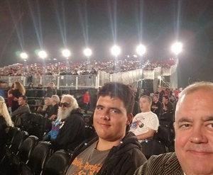 Todd attended Klos Presents: Deep Purple and Judas Priest on Sep 27th 2018 via VetTix
