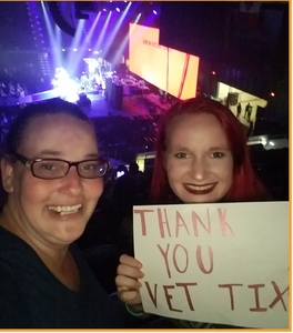 Jennifer attended Fall Out Boy: the M a N I a Tour With Machine Gun Kelly - Alternative Rock on Sep 26th 2018 via VetTix