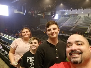 William attended Fall Out Boy: the M a N I a Tour With Machine Gun Kelly - Alternative Rock on Sep 26th 2018 via VetTix