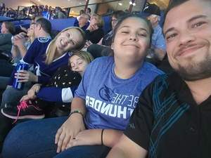 Amanda attended Tampa Bay Lightning vs. Florida Panthers - NHL Preseason on Sep 25th 2018 via VetTix