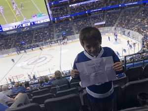 Sarah attended Tampa Bay Lightning vs. Florida Panthers - NHL Preseason on Sep 25th 2018 via VetTix