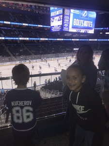 Ryan attended Tampa Bay Lightning vs. Florida Panthers - NHL Preseason on Sep 25th 2018 via VetTix