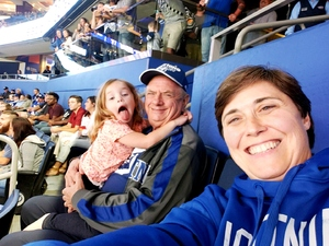 Kimberly attended Tampa Bay Lightning vs. Florida Panthers - NHL Preseason on Sep 25th 2018 via VetTix