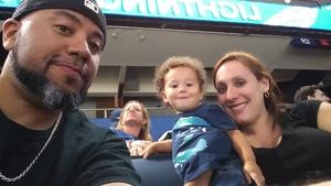 Gabe attended Tampa Bay Lightning vs. Florida Panthers - NHL Preseason on Sep 25th 2018 via VetTix