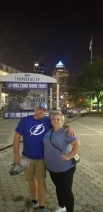 Randolph attended Tampa Bay Lightning vs. Florida Panthers - NHL Preseason on Sep 25th 2018 via VetTix