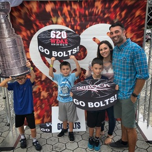 Jeff attended Tampa Bay Lightning vs. Florida Panthers - NHL Preseason on Sep 25th 2018 via VetTix