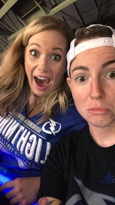 Ashley attended Tampa Bay Lightning vs. Florida Panthers - NHL Preseason on Sep 25th 2018 via VetTix