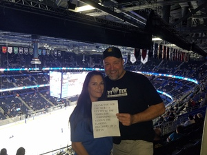 jeffrey attended Tampa Bay Lightning vs. Florida Panthers - NHL Preseason on Sep 25th 2018 via VetTix