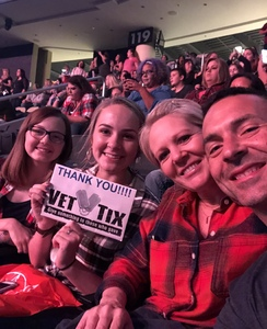 Nick B attended Justin Timberlake - the Man of the Woods Tour - Pop on Sep 25th 2018 via VetTix