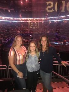James attended Justin Timberlake - the Man of the Woods Tour - Pop on Sep 25th 2018 via VetTix