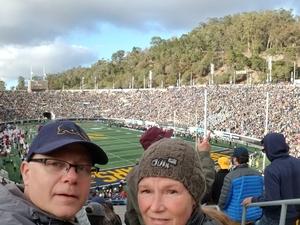 PHILLIP attended University of California Berkeley Golden Bears vs. Stanford - NCAA Football on Dec 1st 2018 via VetTix