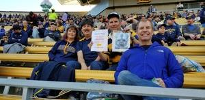 David attended University of California Berkeley Golden Bears vs. Stanford - NCAA Football on Dec 1st 2018 via VetTix
