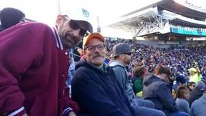 Earl attended University of California Berkeley Golden Bears vs. Stanford - NCAA Football on Dec 1st 2018 via VetTix