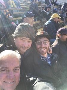 Aaron attended University of California Berkeley Golden Bears vs. Stanford - NCAA Football on Dec 1st 2018 via VetTix