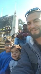 Gabriel attended University of California Berkeley Golden Bears vs. Stanford - NCAA Football on Dec 1st 2018 via VetTix