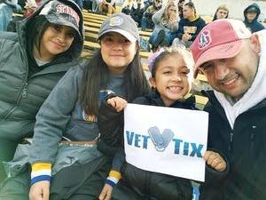 Saul attended University of California Berkeley Golden Bears vs. Stanford - NCAA Football on Dec 1st 2018 via VetTix