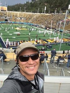 Jetman attended University of California Berkeley Golden Bears vs. Stanford - NCAA Football on Dec 1st 2018 via VetTix