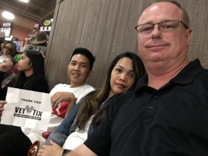 Timothy attended PBR Real Time Pain Relief Velocity Finals - Friday on Nov 2nd 2018 via VetTix
