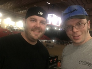 Andrew attended PBR Real Time Pain Relief Velocity Finals - Friday on Nov 2nd 2018 via VetTix