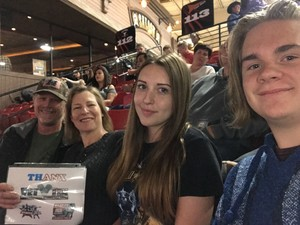 Dean T attended PBR Real Time Pain Relief Velocity Finals - Friday on Nov 2nd 2018 via VetTix