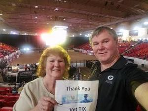 Dana attended PBR Real Time Pain Relief Velocity Finals - Friday on Nov 2nd 2018 via VetTix