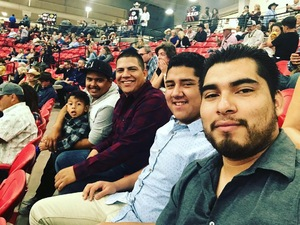 Juan M. attended PBR Real Time Pain Relief Velocity Finals - Friday on Nov 2nd 2018 via VetTix