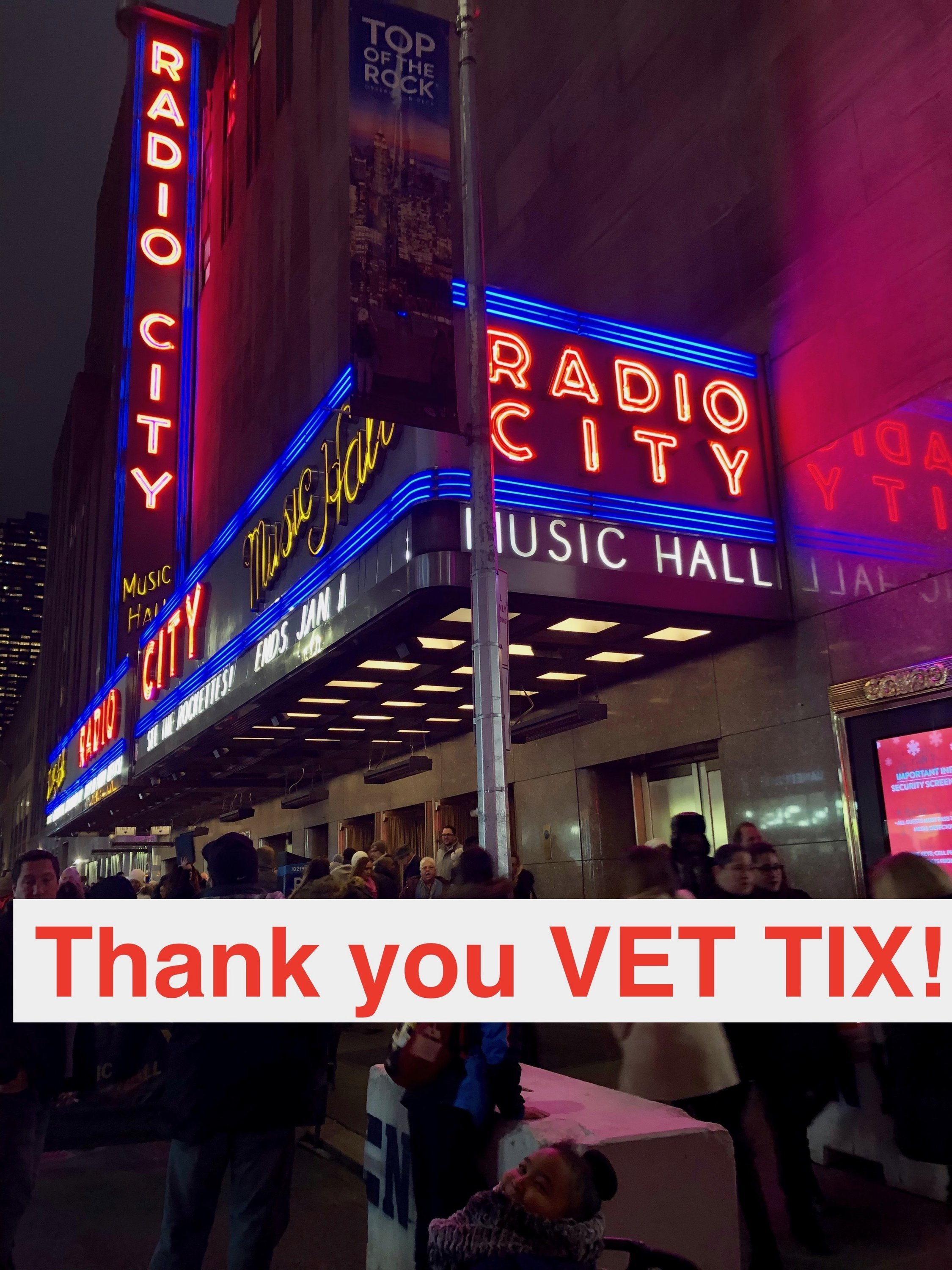Christmas City Vet.Thank You Messages To Veteran Tickets Foundation Donors